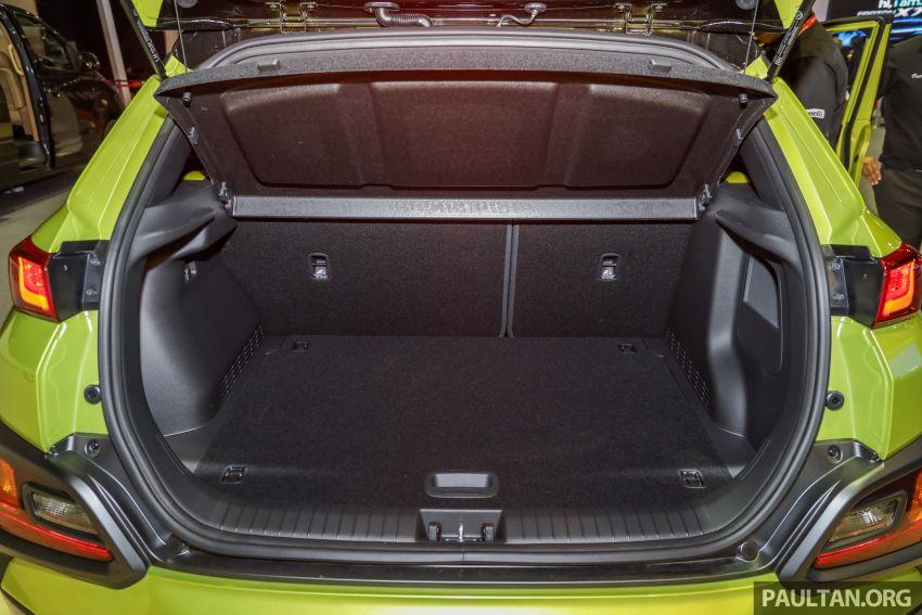 KLIMS18: Hyundai Kona 1.6 Turbo dan Electric – model enjin petrol mungkin dilancar pada Mei 2019 Image #892865