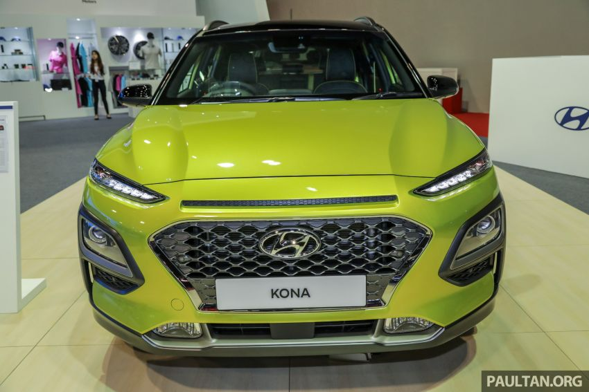 KLIMS18: Hyundai Kona Electric, 1.6 Turbo on show – ICE version set for Q2 2019 Malaysian debut Image #892377