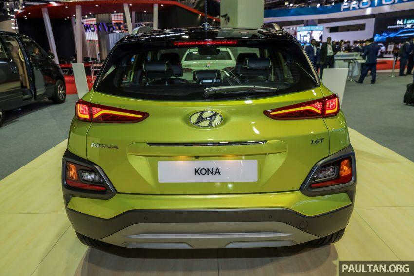 KLIMS18: Hyundai Kona 1.6 Turbo dan Electric – model enjin petrol mungkin dilancar pada Mei 2019 Image #892838