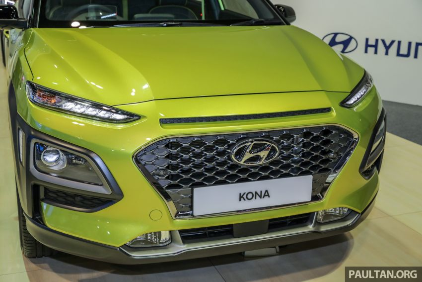 KLIMS18: Hyundai Kona 1.6 Turbo dan Electric – model enjin petrol mungkin dilancar pada Mei 2019 Image #892839