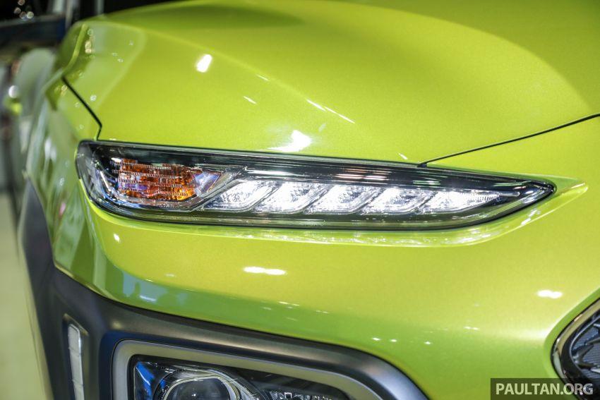 KLIMS18: Hyundai Kona 1.6 Turbo dan Electric – model enjin petrol mungkin dilancar pada Mei 2019 Image #892840
