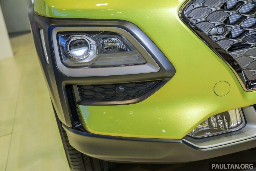 KLIMS18: Hyundai Kona 1.6 Turbo dan Electric – model enjin petrol mungkin dilancar pada Mei 2019 Image #892841