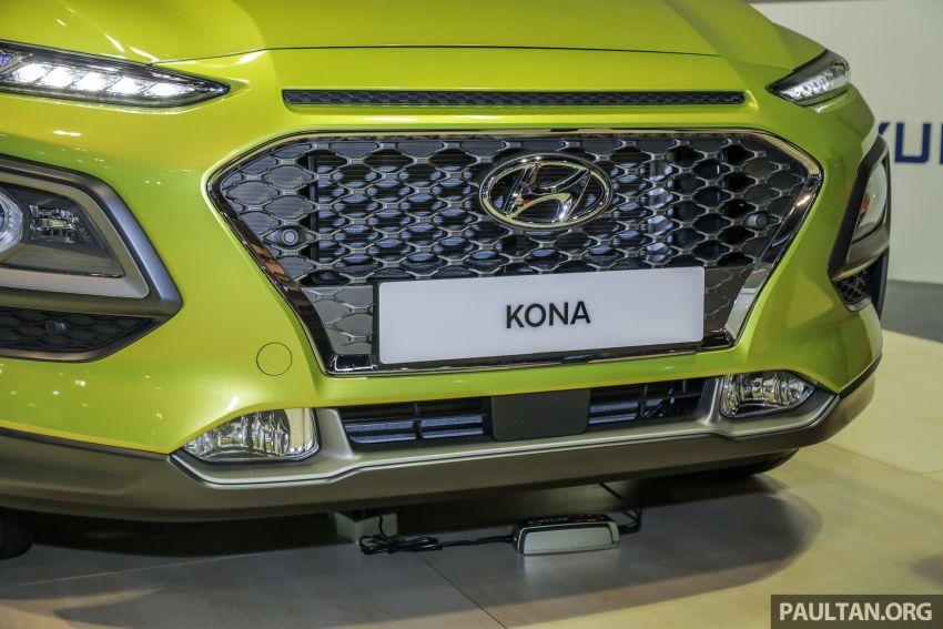KLIMS18: Hyundai Kona 1.6 Turbo dan Electric – model enjin petrol mungkin dilancar pada Mei 2019 Image #892842