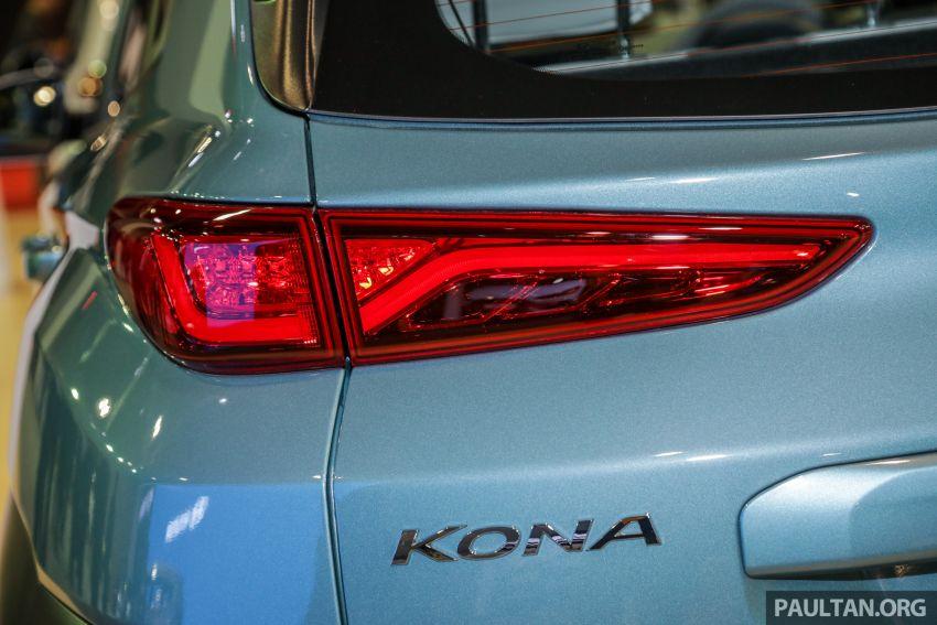 KLIMS18: Hyundai Kona 1.6 Turbo dan Electric – model enjin petrol mungkin dilancar pada Mei 2019 Image #893180