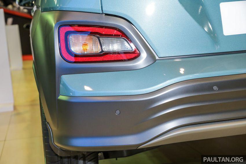 KLIMS18: Hyundai Kona 1.6 Turbo dan Electric – model enjin petrol mungkin dilancar pada Mei 2019 Image #893182