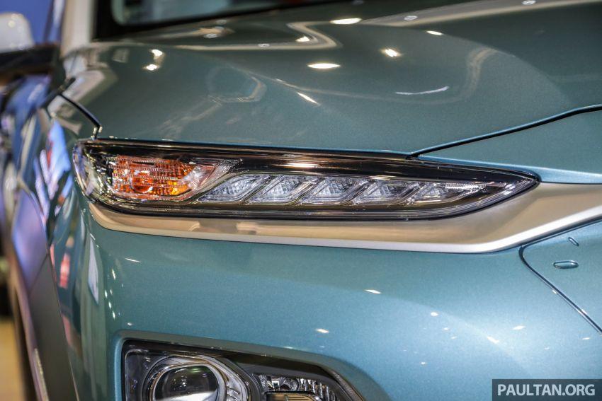 KLIMS18: Hyundai Kona 1.6 Turbo dan Electric – model enjin petrol mungkin dilancar pada Mei 2019 Image #893166