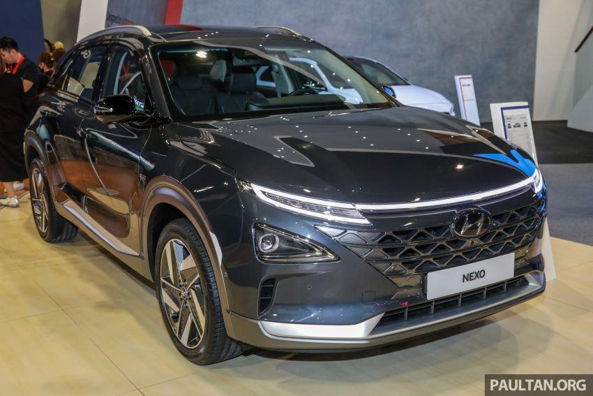 KLIMS18: Hyundai Nexo hydrogen fuel cell EV SUV Image #892984