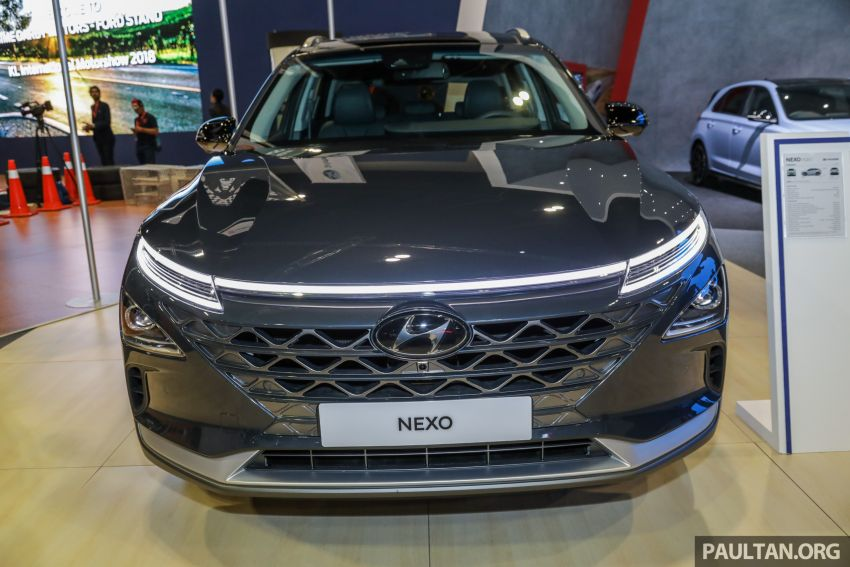KLIMS18: Hyundai Nexo hydrogen fuel cell EV SUV Image #892987