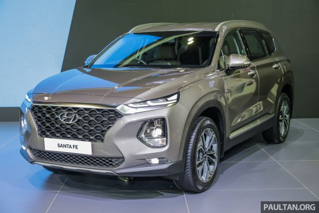 KLIMS18: 2019 Hyundai Santa Fe arrives in Malaysia - order books now