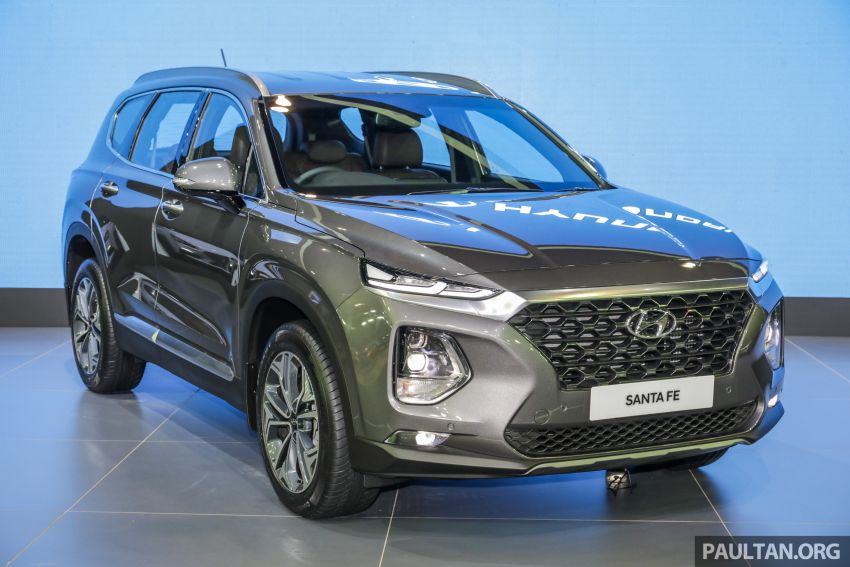 KLIMS18: 2019 Hyundai Santa Fe arrives in Malaysia – order books now open, estimated price from RM188k Image #891460