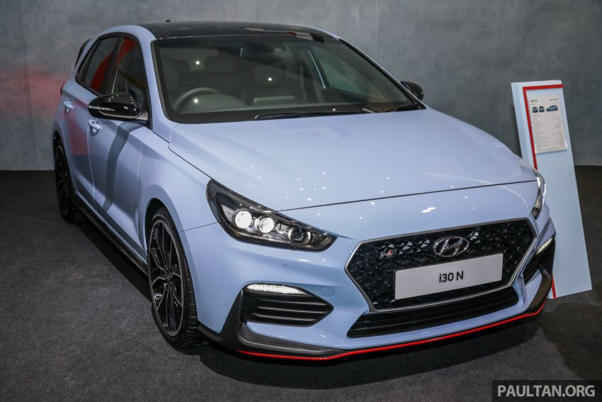 KLIMS18: Hyundai i30 N lands in Malaysia – 279 PS, 353 Nm, six-speed manual, 0-100 km/h in 6.1 seconds Image #892245