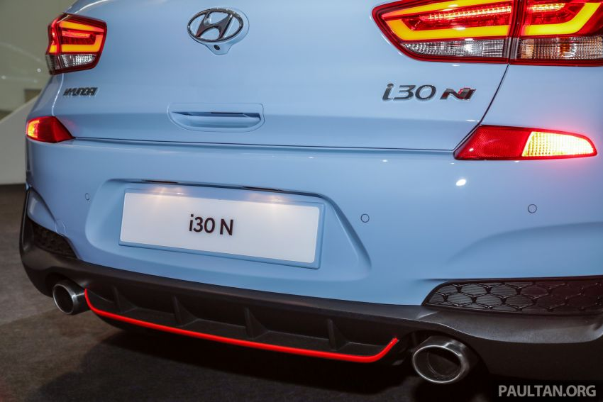 KLIMS18: Hyundai i30 N lands in Malaysia – 279 PS, 353 Nm, six-speed manual, 0-100 km/h in 6.1 seconds Image #892264