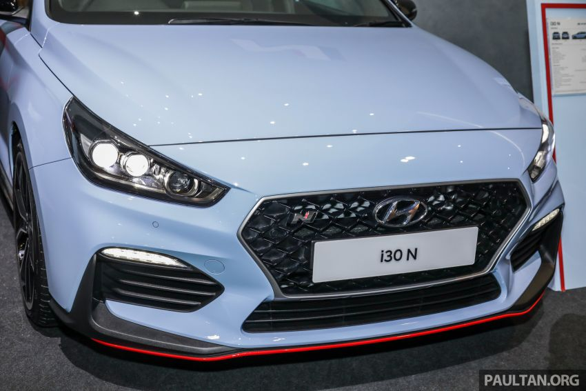 KLIMS18: Hyundai i30 N lands in Malaysia – 279 PS, 353 Nm, six-speed manual, 0-100 km/h in 6.1 seconds Image #892250