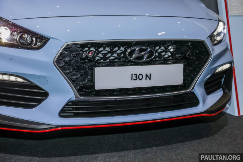 KLIMS18: Hyundai i30 N lands in Malaysia – 279 PS, 353 Nm, six-speed manual, 0-100 km/h in 6.1 seconds Image #892255