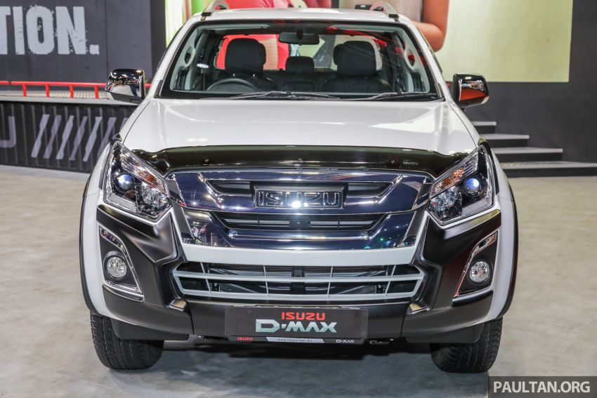 KLIMS18: Isuzu 1.9L Ddi BluePower engine, D-Max and MU-X concepts on display; accessories launched Image #895060