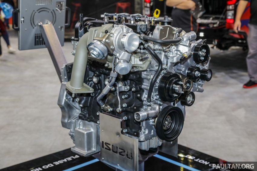 KLIMS18: Isuzu pamer enjin 1.9L Ddi BluePower, jentera konsep D-Max dan MU-X, lancar aksesori baru Image #895241