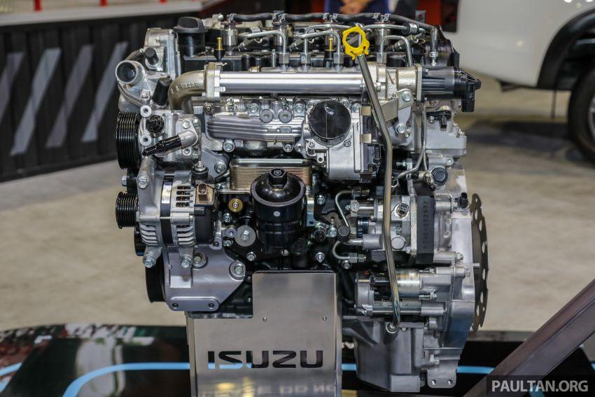 KLIMS18: Isuzu pamer enjin 1.9L Ddi BluePower, jentera konsep D-Max dan MU-X, lancar aksesori baru Image #895243