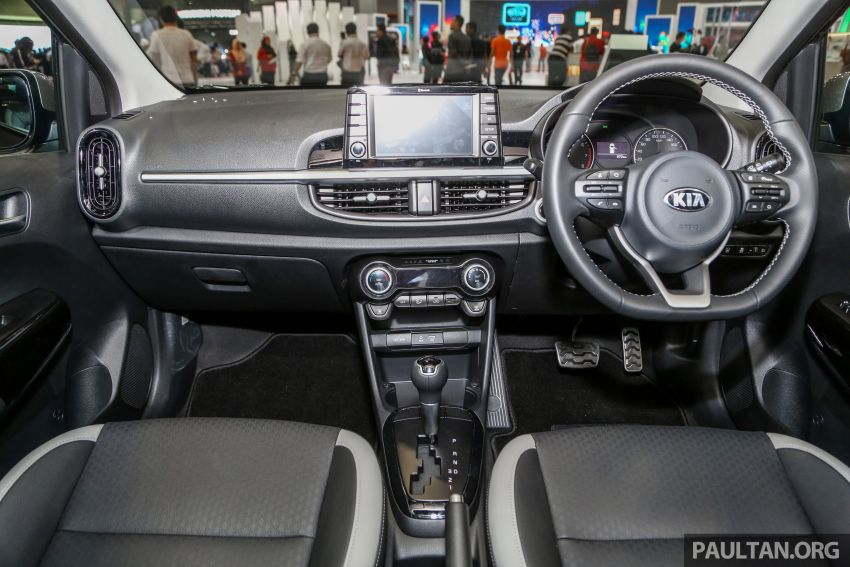 KLIMS18: Kia Picanto GT-Line kini dipamer, ada AEB Image #894239