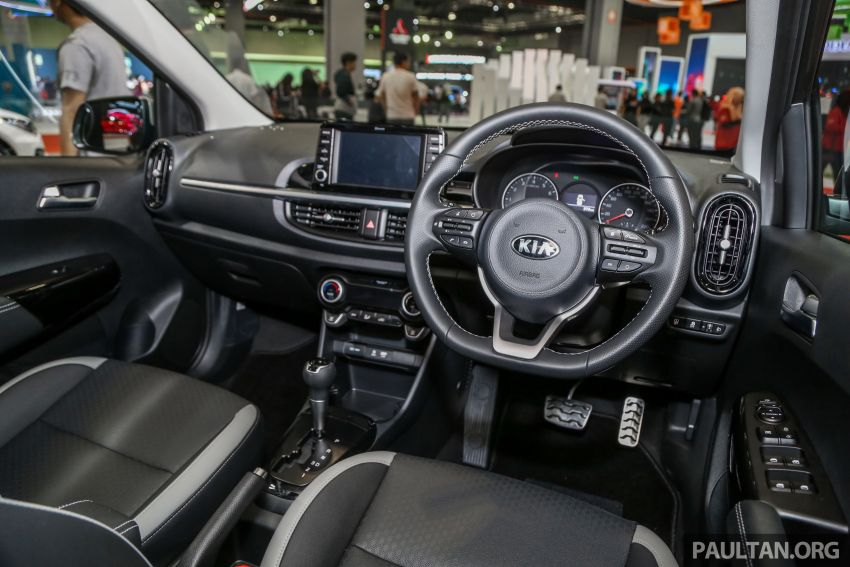 KLIMS18: Kia Picanto GT-Line kini dipamer, ada AEB Image #894249