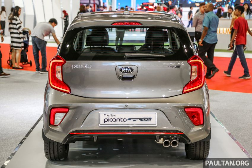 KLIMS18: Kia Picanto GT Line on display with AEB Image #894148
