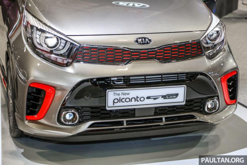 KLIMS18: Kia Picanto GT Line on display with AEB Image #894150