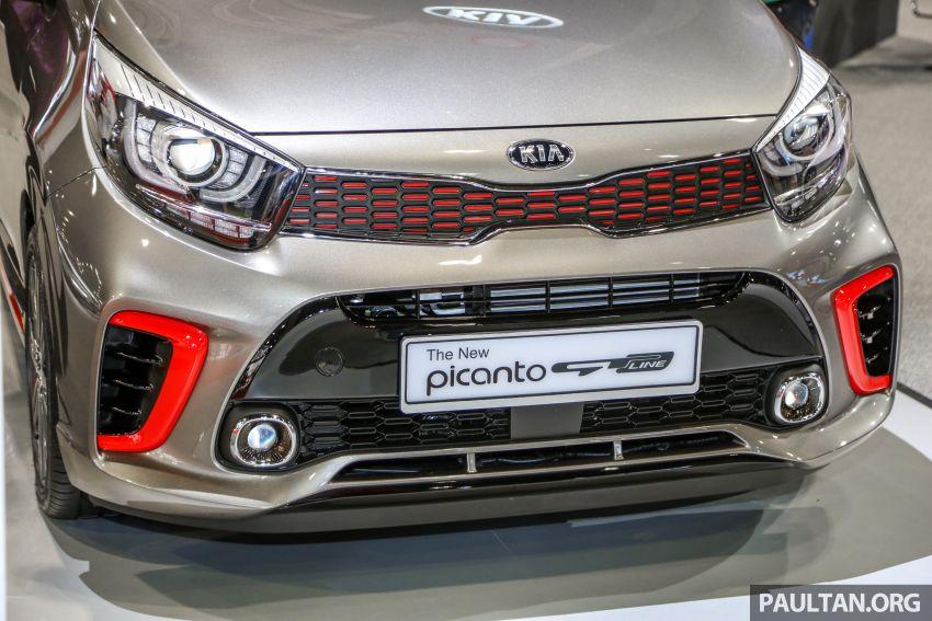 KLIMS18: Kia Picanto GT-Line kini dipamer, ada AEB Image #894220