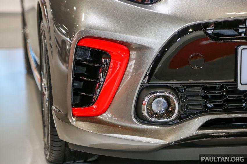 KLIMS18: Kia Picanto GT Line on display with AEB Image #894152