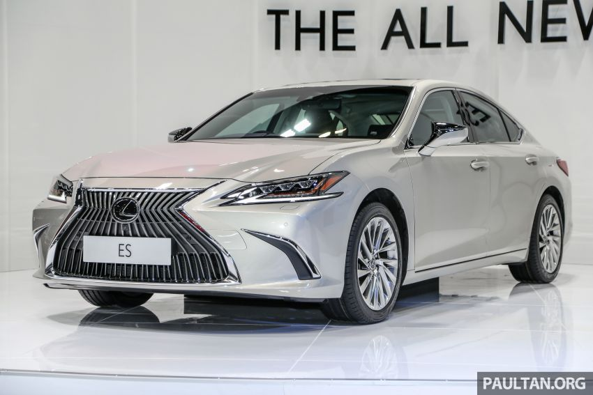 KLIMS18: New Lexus ES 250 previewed in Malaysia Image #892061