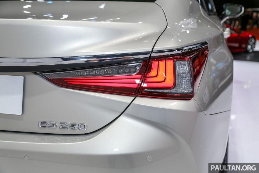 KLIMS18: Lexus ES250 baru dipertonton di Malaysia Image #893439