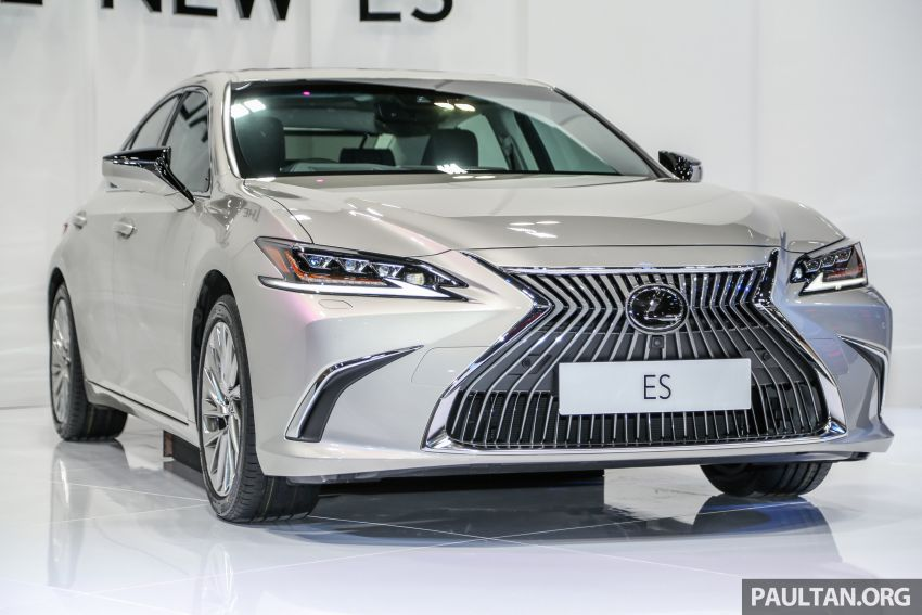 KLIMS18: New Lexus ES 250 previewed in Malaysia Image #892063