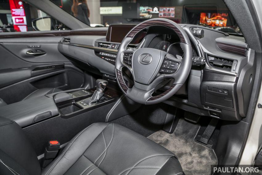 KLIMS18: Lexus ES250 baru dipertonton di Malaysia Image #893448