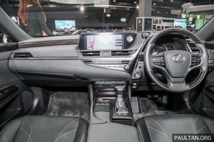KLIMS18: Lexus ES250 baru dipertonton di Malaysia Image #893449