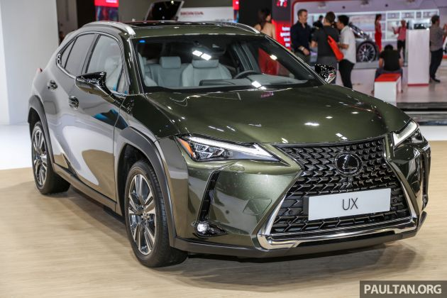 Klims18 Lexus Ux Crossover Previewed In Malaysia