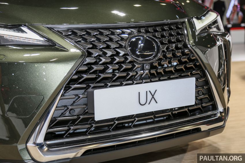 KLIMS18: Lexus UX crossover previewed in Malaysia Image #892449