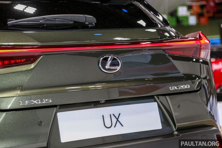 KLIMS18: Lexus UX crossover previewed in Malaysia Image #892456