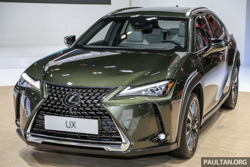 KLIMS18: Lexus UX crossover previewed in Malaysia Image #892434