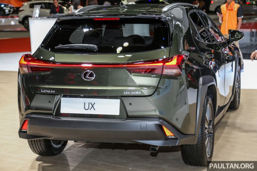 KLIMS18: Lexus UX crossover previewed in Malaysia Image #892437