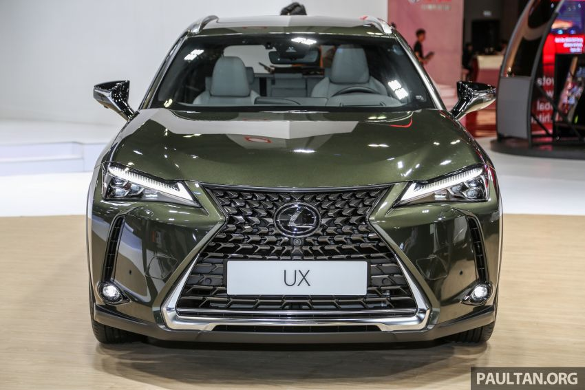 KLIMS18: Lexus UX crossover previewed in Malaysia Image #892439