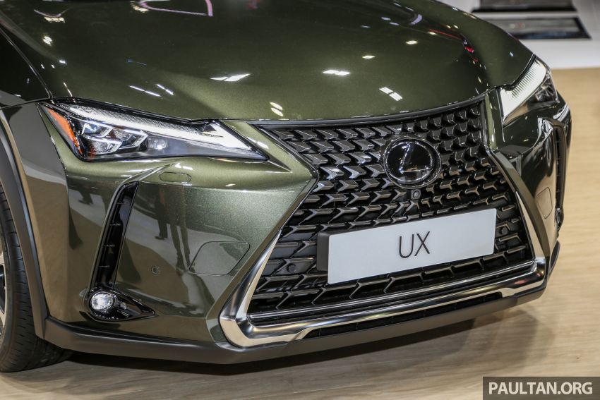 KLIMS18: Lexus UX crossover previewed in Malaysia Image #892444