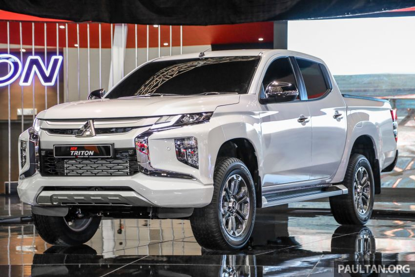 2019 Mitsubishi Triton now open for booking in M'sia – launch in Q1 next year, 5 variants, from RM100k-140k Image #892592