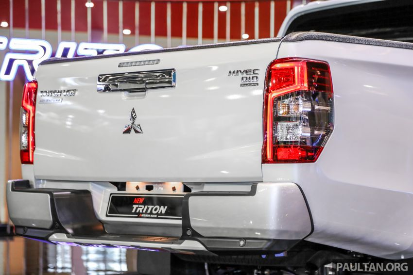 2019 Mitsubishi Triton now open for booking in M'sia – launch in Q1 next year, 5 variants, from RM100k-140k Image #892601