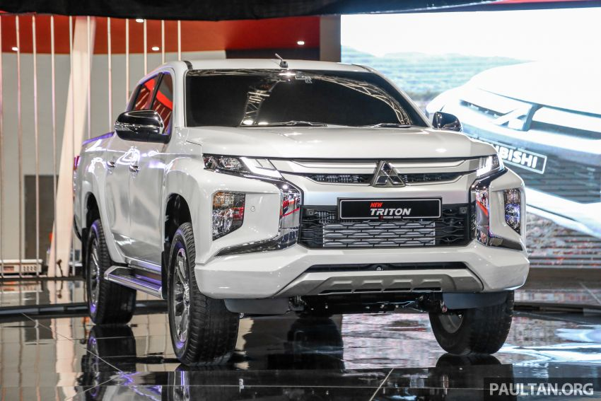 2019 Mitsubishi Triton now open for booking in M'sia – launch in Q1 next year, 5 variants, from RM100k-140k Image #892593