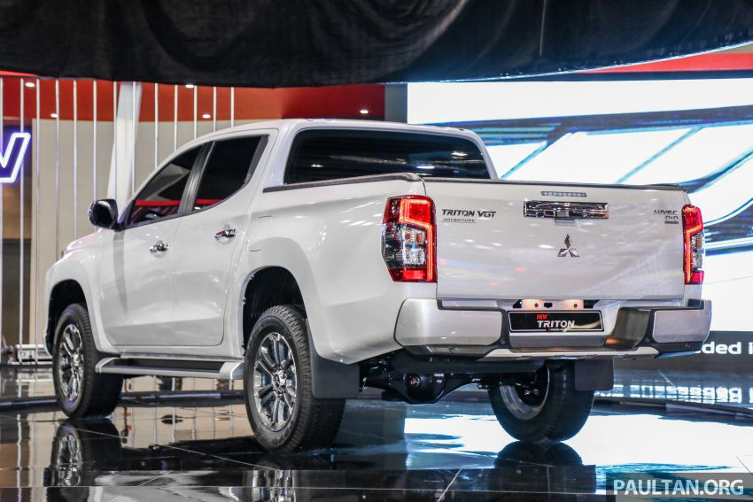 2019 Mitsubishi Triton now open for booking in M'sia – launch in Q1 next year, 5 variants, from RM100k-140k Image #892594