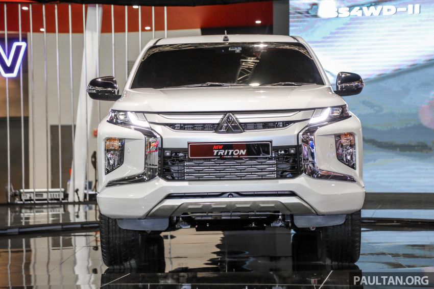 2019 Mitsubishi Triton now open for booking in M'sia – launch in Q1 next year, 5 variants, from RM100k-140k Image #892595