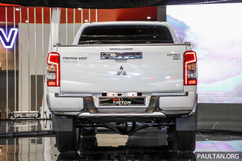 2019 Mitsubishi Triton now open for booking in M'sia – launch in Q1 next year, 5 variants, from RM100k-140k Image #892596