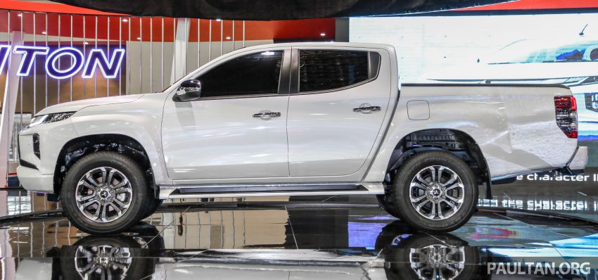 2019 Mitsubishi Triton now open for booking in M'sia – launch in Q1 next year, 5 variants, from RM100k-140k Image #892597