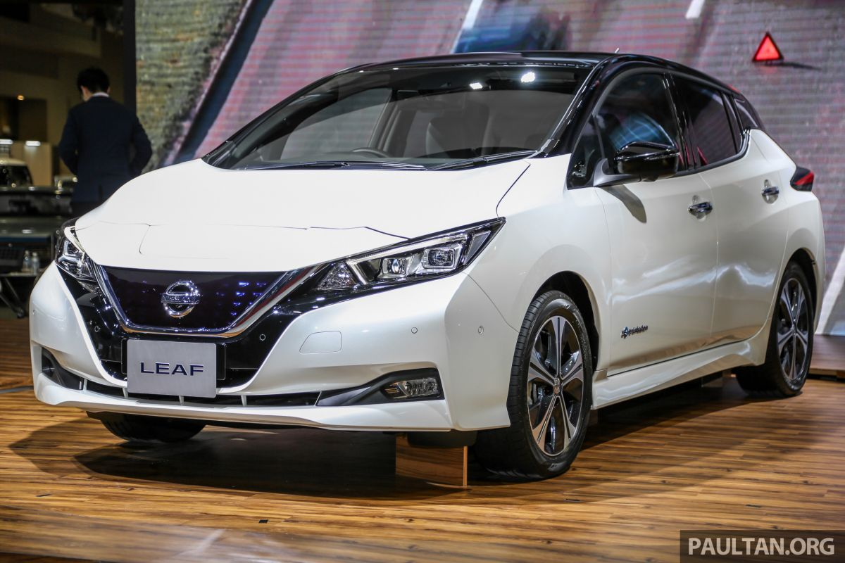 KLIMS18: Nissan Leaf previewed - mid-2019 launch