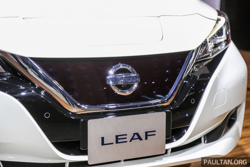 KLIMS18: Nissan Leaf previewed – mid-2019 launch Image #892531