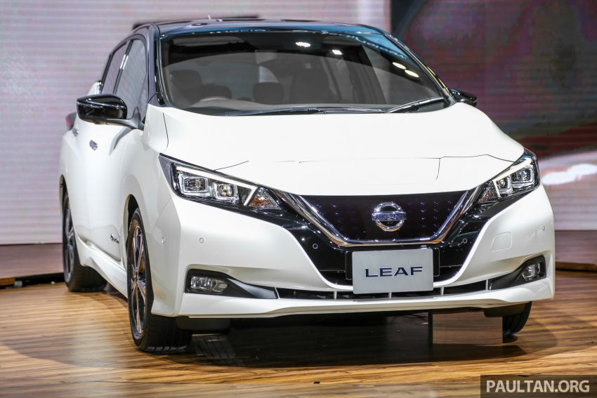 KLIMS18: Nissan Leaf previewed – mid-2019 launch Image #892523