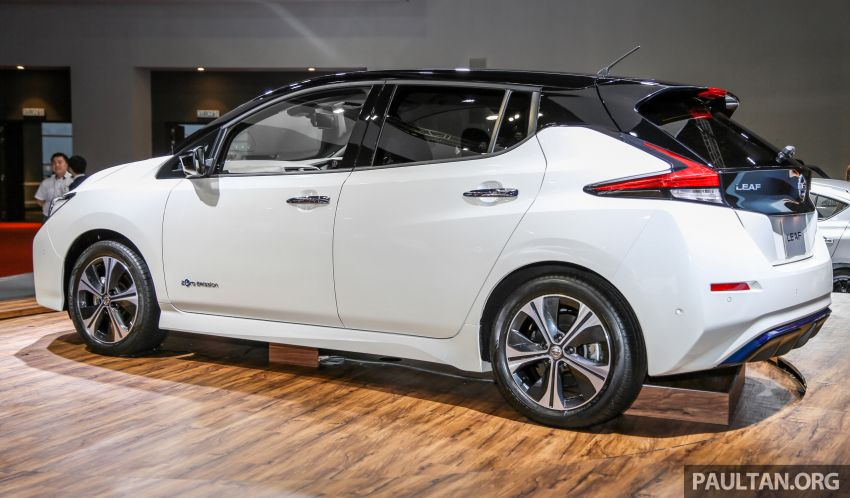 KLIMS18: Nissan Leaf previewed – mid-2019 launch Image #892524